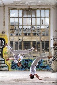 Capoeira - bojové umění - foto - sport