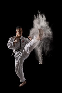 Karate - bojové umění - fotografie - sport