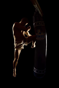 Muay Thai - bojové umění - fotografie - sport